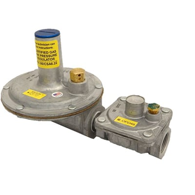 1/2'' GAS REGULATOR-OPD 2-5 PSI