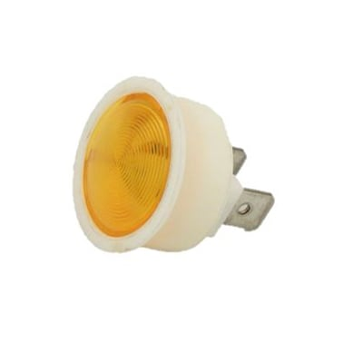 AMBER INDICATOR LIGHT